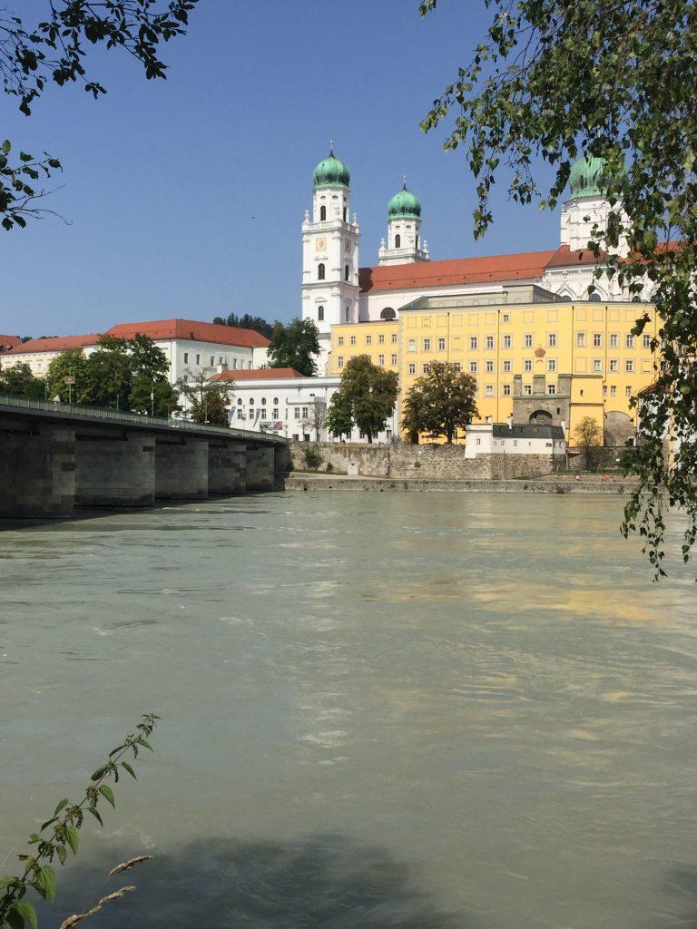 Passau start of riding the Danube