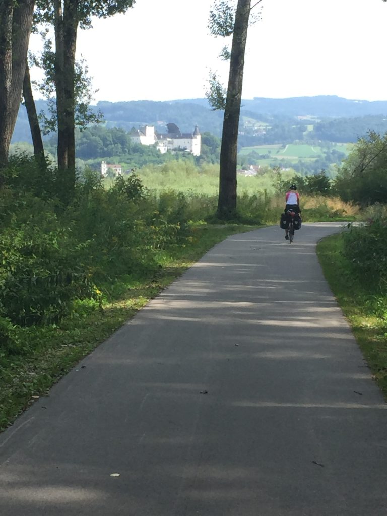 Miles of beautiful cycle paths cycling the Danube