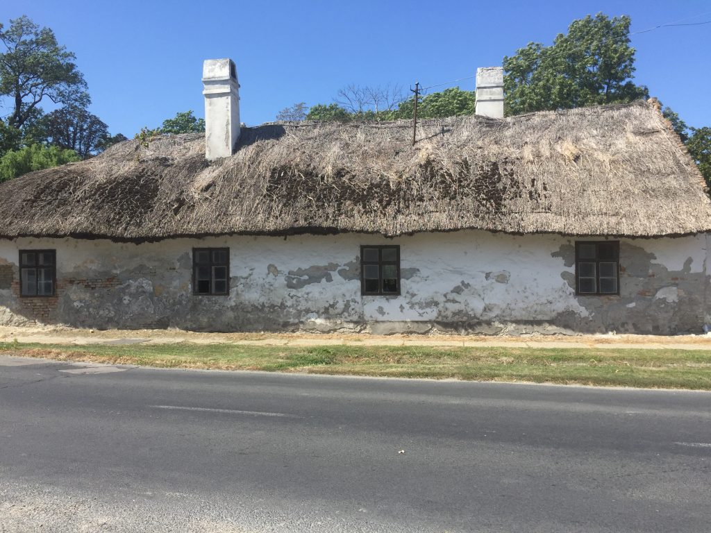 The only thatched building we saw in Hungary