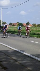 Pro conti racing the minute we entered Belgium